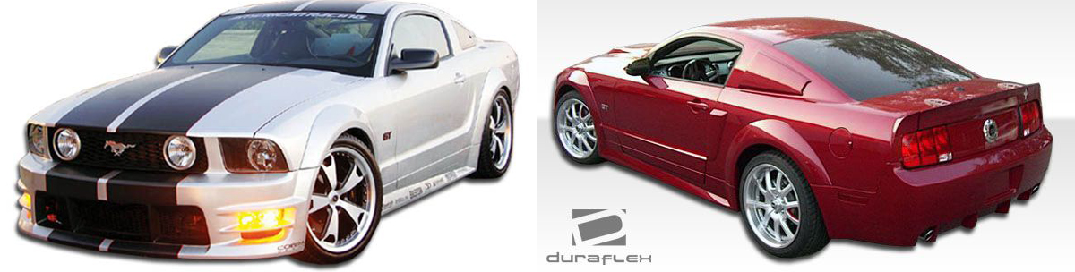 2005-2009 Ford Mustang GT500 Wide Body