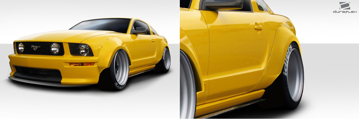 2005-2009 Ford Mustang Wide Body Kit