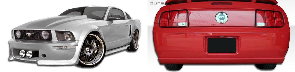 2005-2009 Ford Mustang Elanor Body Kit