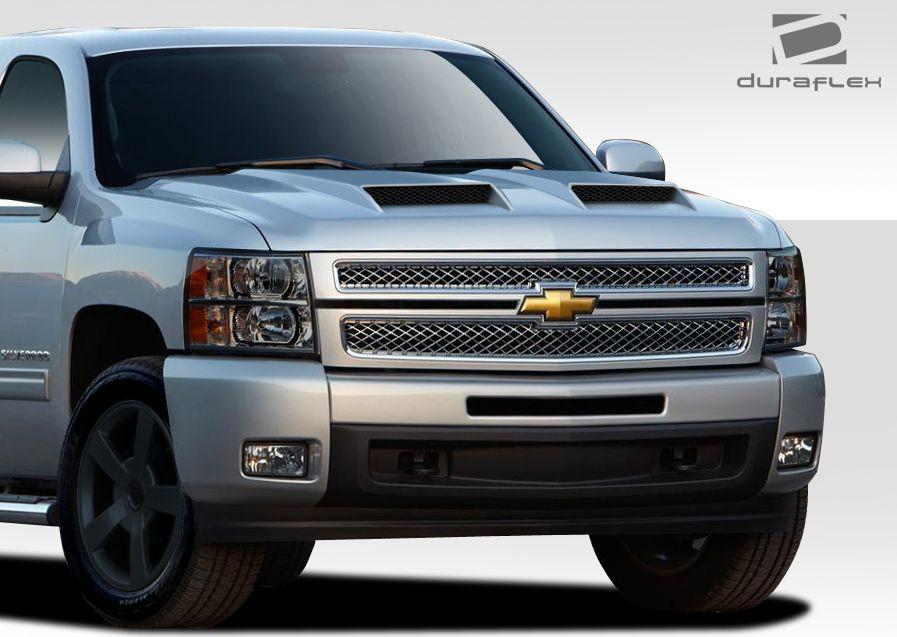 2007-2013 Chevrolet Silverado Custom Hoods