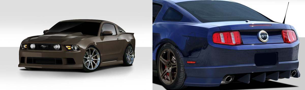 2010 Ford Mustang Body Kit