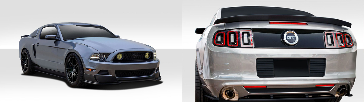 2013-2014 Ford Mustang R500 Body Kit