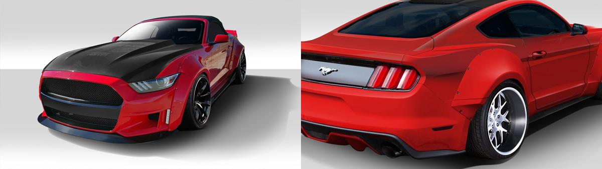 2015 Mustang Wide Body Kit