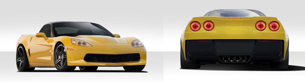 C6 Corvette Stingray Body Kit