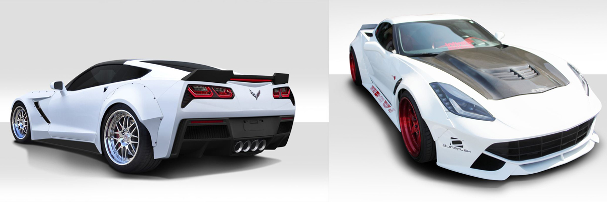 C7 Corvette Wide Body Kit