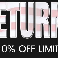 10% Tax Return Sale Has Begun