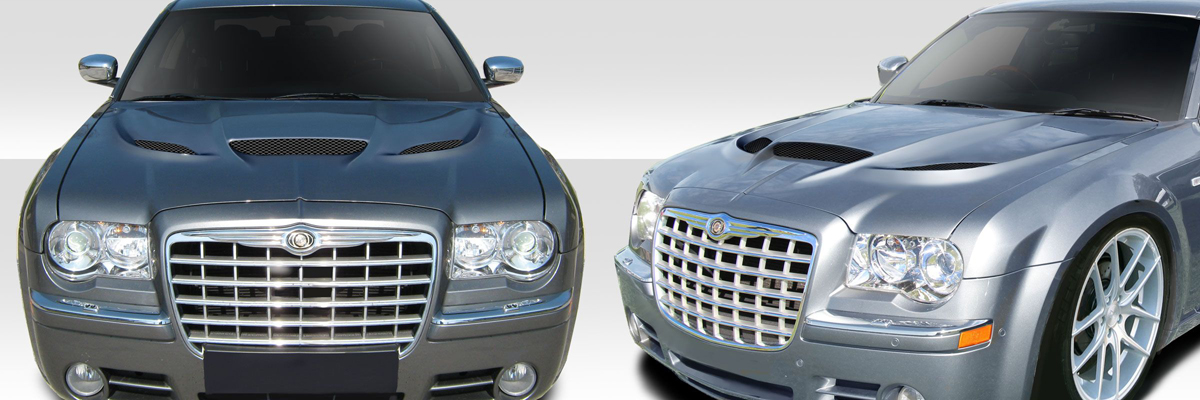 2005-2010 Chrysler 300C Hellcat Hood