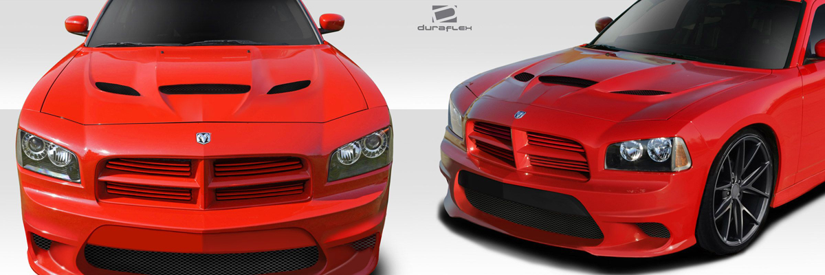 2006-2010 Dodge Charger Hellcat Hood