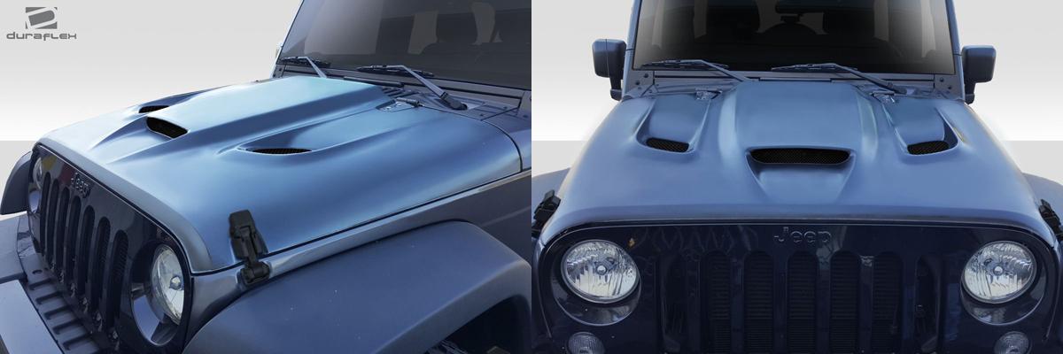 2007-2018 Jeep Wrangler Hellcat Hood