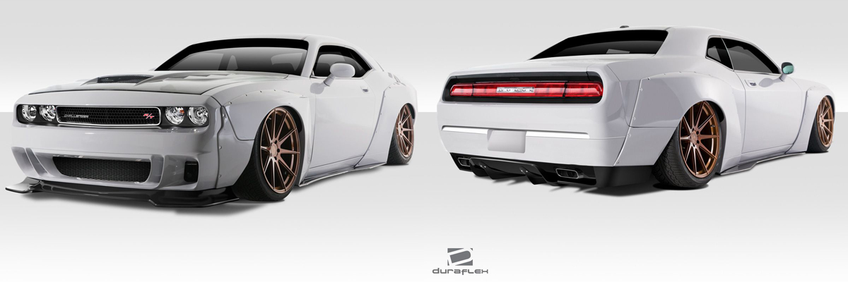 Dodge Challenger Circuit Wide Body Kit