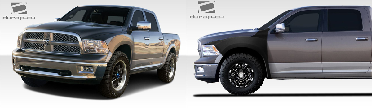 2009-2018 Dodge Ram Off Road Fenders