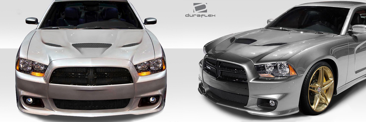 2011-2014 Dodge Charger Hellcat Hood