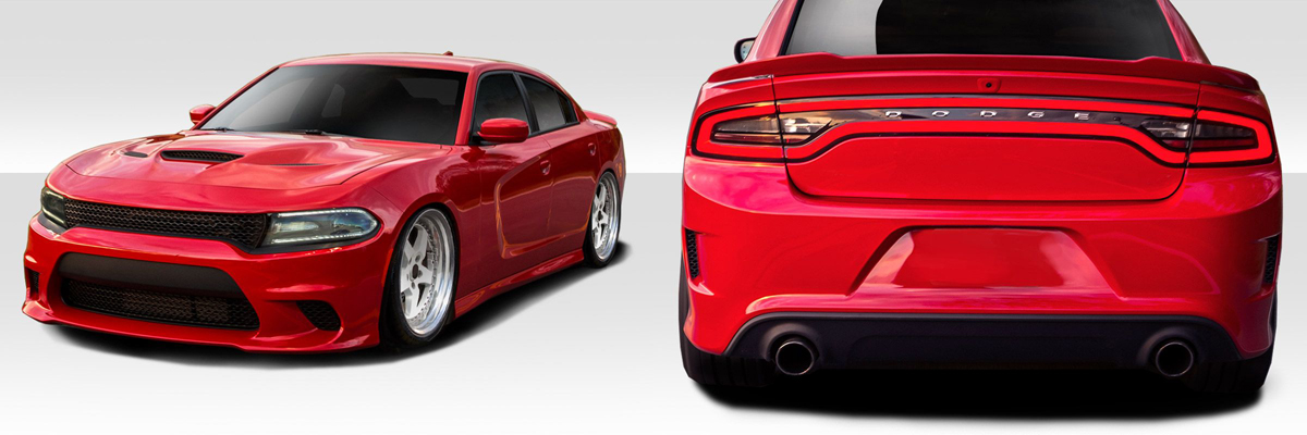 2015-2018 Charger Hellcat Body Kit