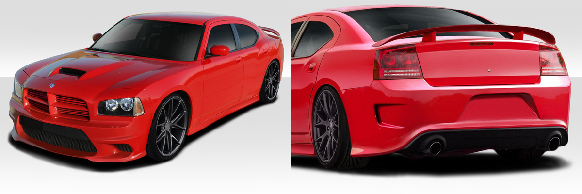 Dodge Charger Hellcat Body Kit