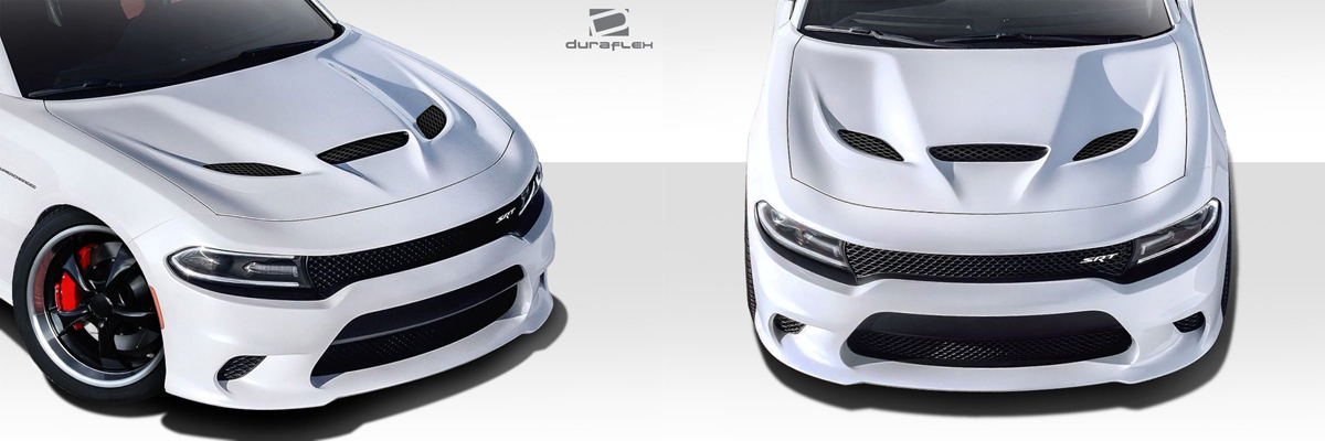 Dodge Charger Hellcat Hood