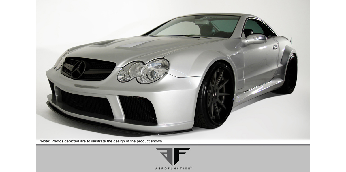 2003-2012 Mercedes Benz SL Body Kit