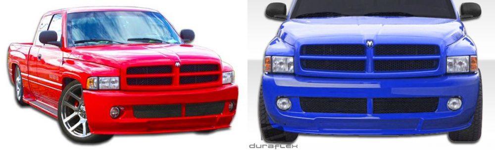 1994-2001 Dodge Ram SRT Bumper