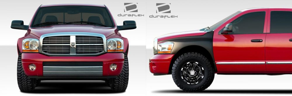 2006-2008 Dodge Ram Bulge Off Road Fenders