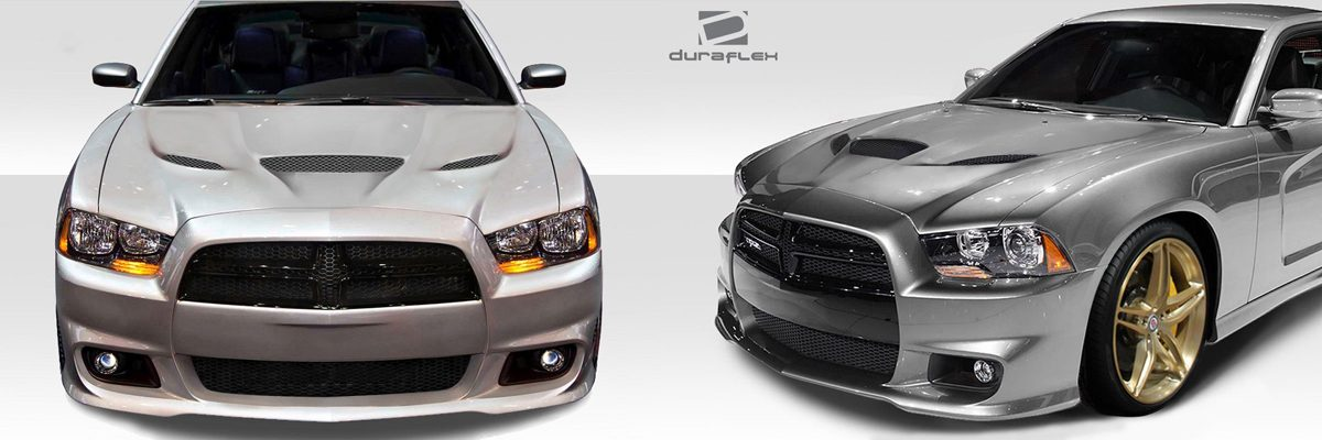 2011-2014 Dodge Charger Hellcat Hood