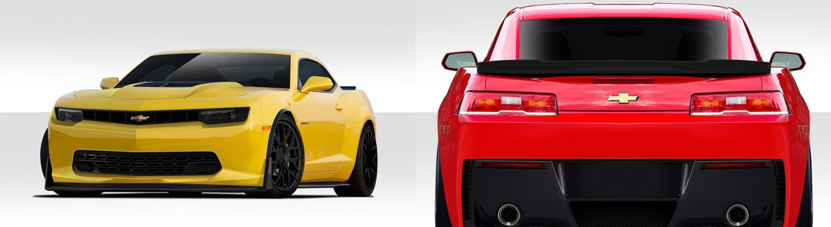 2014-2015 Camaro Stingray Body Kit