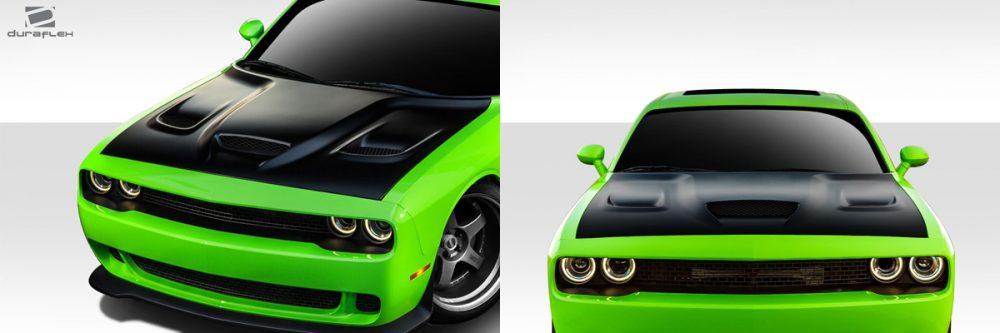 Dodge Challenger Hellcat Hood
