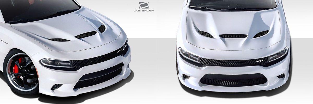 Dodge Charger Hellcat Hood
